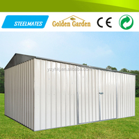 solid structure steel cattle shed