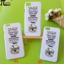 Custom logo printing hot sell and cheap gifts hard plastic PC phone case for iphone 5S 6S i7