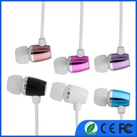 Alibaba best selling 3.5mm connectors mini earphones speaker with good earphone ear plug for iphone earphone