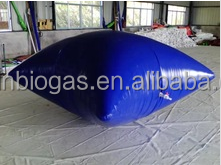 PVC material biogas storage balloon for biogas plant