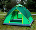 One Touch Tent Camping Tent Waterproof UV Protection Climbing Folding 3 ~ 4 Person Easy Setup