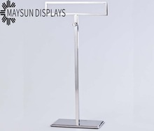 New Arrived Accessories Silver Color Scarves Display Stand Rack