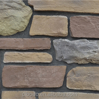 Decorative kitchen wall panels by blue faux stone product