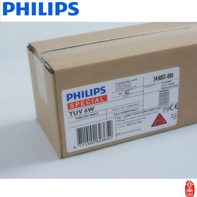 Philips UV lamps for water treatment TUV 6W T5 G5