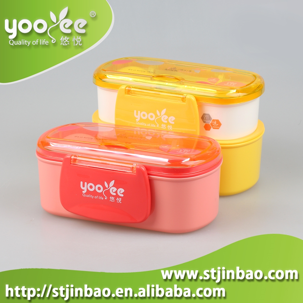China factory bento lunch box with lock, top quality customized bento box set
