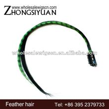 Hot sale Synthetic hair extensions with clamps