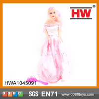 Hot Selling Dressing Plastic Fashion 11 Inch Kids Doll Import