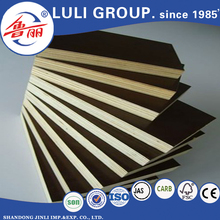12mm 18mm Poplar/Eucalyptus core Film faced plywood specifications used ecological construction materials