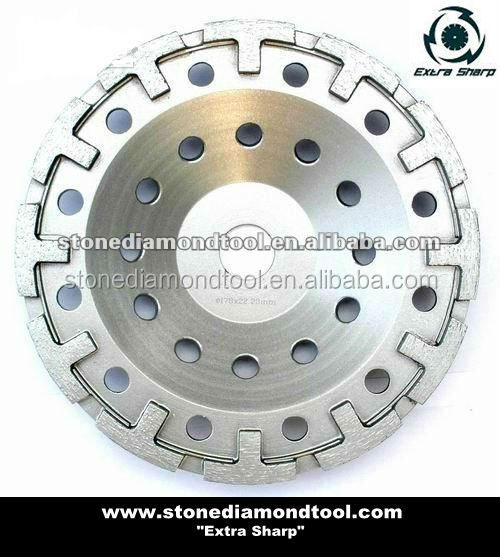 4 inch abrasive diamonds grinding wheel