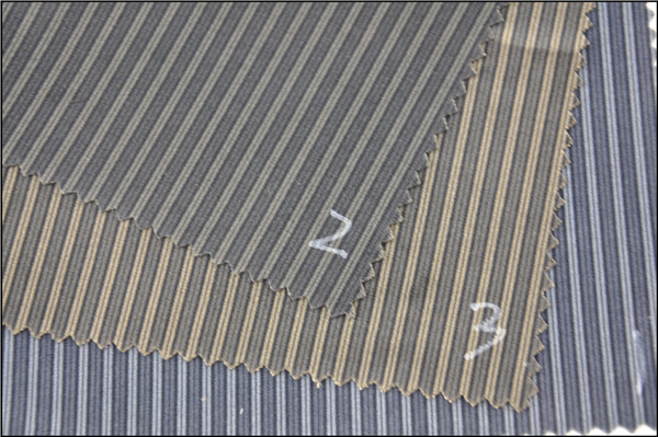 Wholesale printed polyester velvet stripe fabric for warm cloth