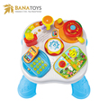 2018 new multifunctional musical kids baby toy activity table