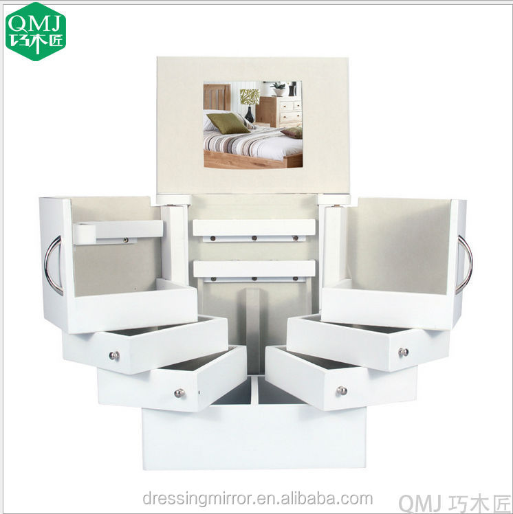 witte meuble rangement bijoux sieraden opbergkast houten kasten product id 60194718459 dutch. Black Bedroom Furniture Sets. Home Design Ideas