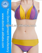 Sexy bikini three colour split joint design www sex image . com hot sexy swimwear www sex. photos com