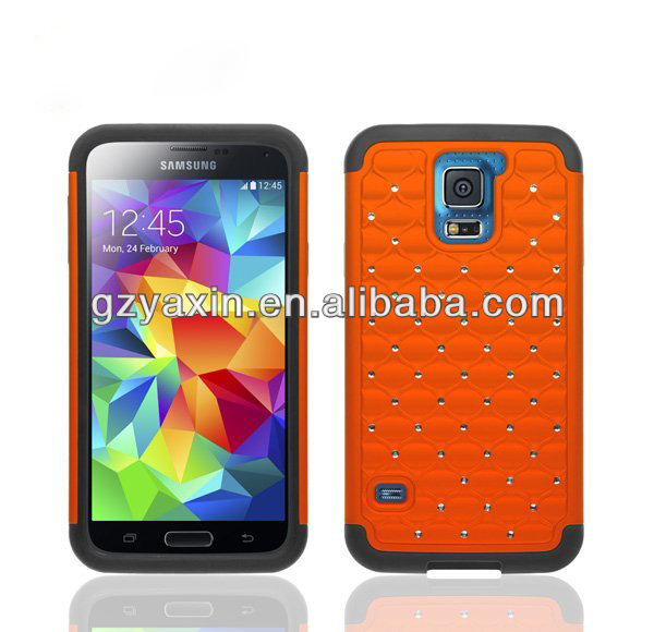 2014 Newest Bling Diamond Case For Samsung Galaxy S5 i9600 Crystal Cover Case,hard case for samsung galaxy s5