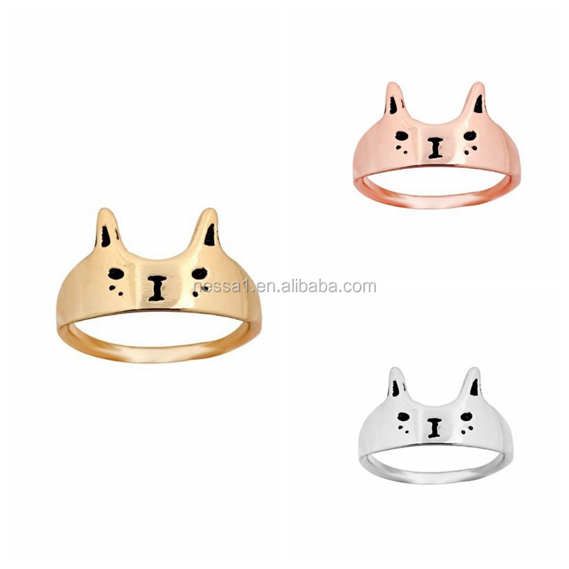 High Quality Cute Bear Wholesale Poison Ring YU-0288