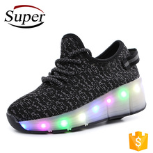 Wheel Light Up Shoes Made In China LED Shoes Children