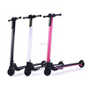 2017 new products portable folding carbon fiber electric scooter with 5 inch solid tires