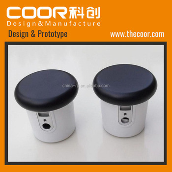 COOR 3D Printing Service Rapid Prototyping Metallic Color Painted Plastic Prototype