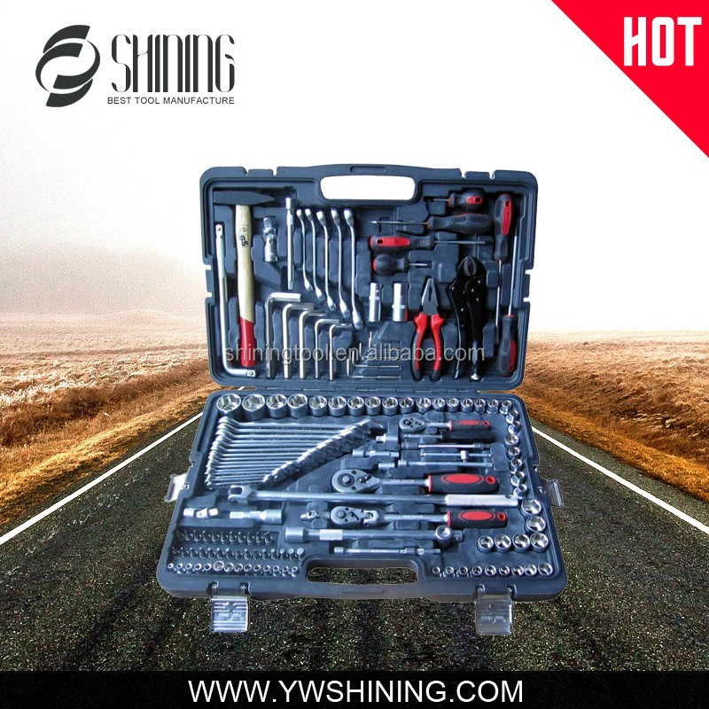 "143PCS 1/2"" 1/4"" GERMANY QUALITY TOOL SET CAR REPAIR TOOL MANUFACTURE"