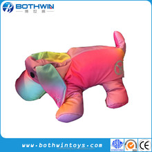 Microbead Micro beans stuffed colorful puppy dog Plush Pillow For Girls