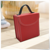 eco-friend wooden material wholesale travel jewelry roll case
