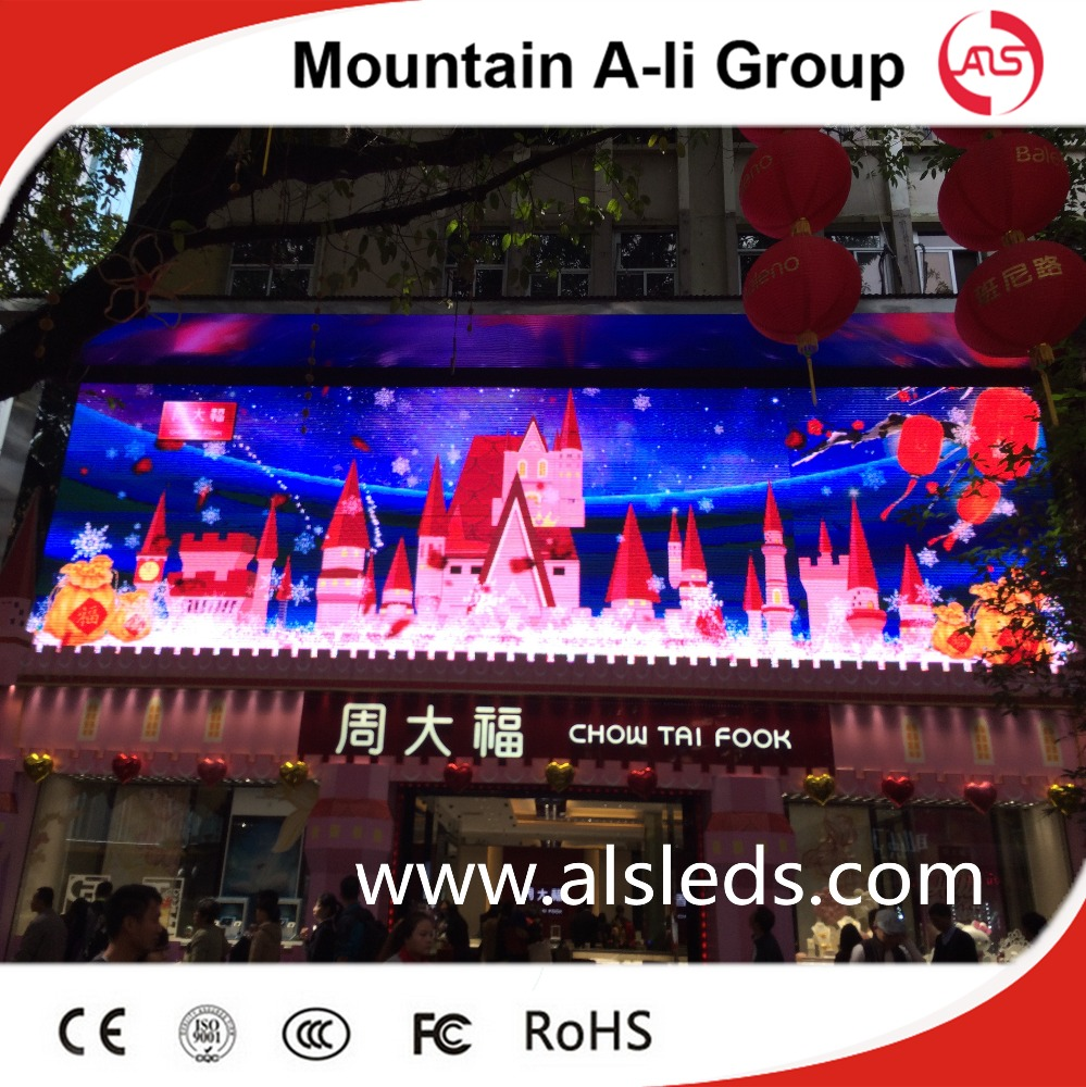P10 Outdoor Full Color Led Advertising Display