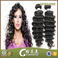 Directly factory Jazz wave human hair extensions