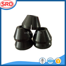 Seal tool rubber split cone packing for polish rod