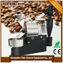 professional manufacturer cast iron drum 10kg coffee bean roaster industrial