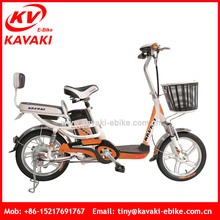 Guangzhou Kavaki Export Two Wheel Electric Vehicle With Big Pedal For Passenger