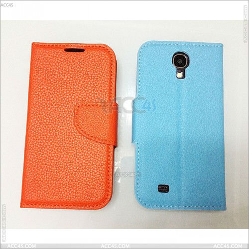 For Samsung Galaxy S4 Smart Wallet Leather Case with Stand P-SAMI9500CASE092