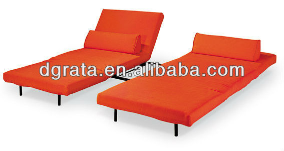 2012 hot sale parts sofa bed furniture in chrome and fabric to finish for living room