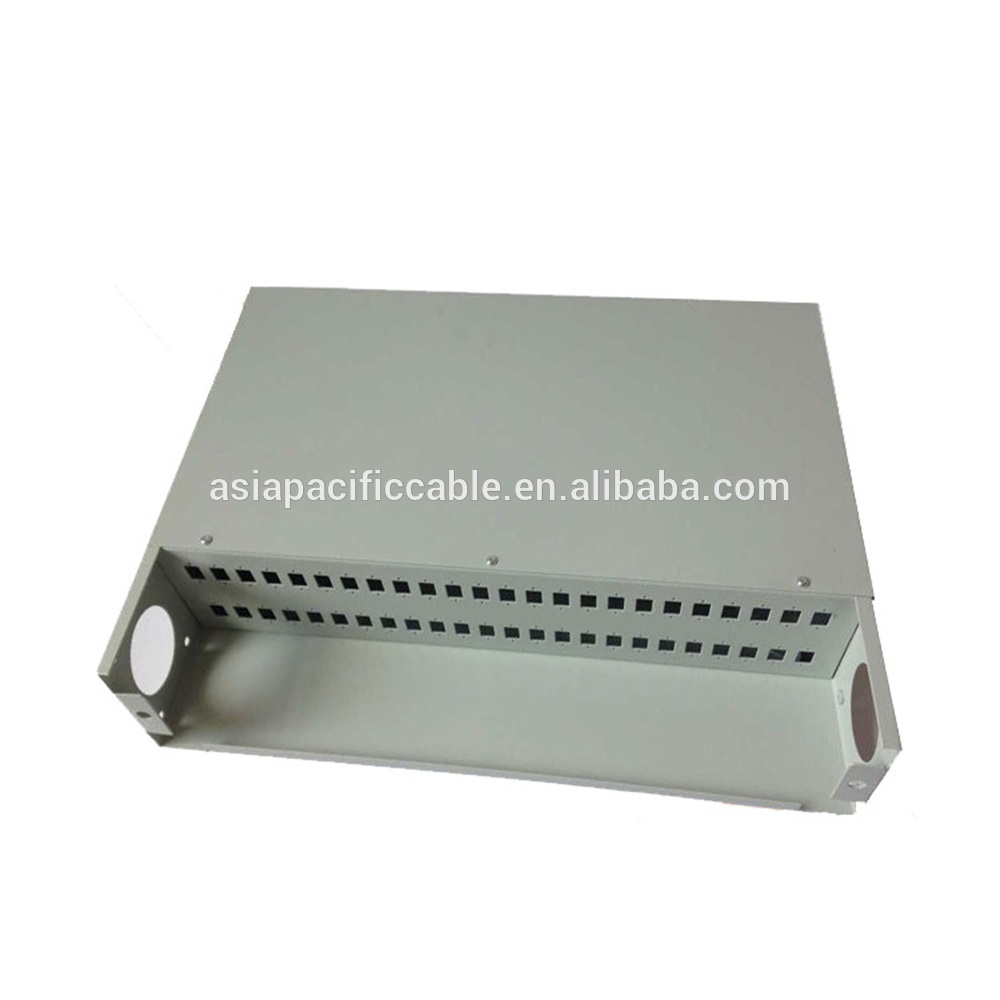 Outdoor FTTH 12 Core /12 Port Fiber Optic Distribution Box for network