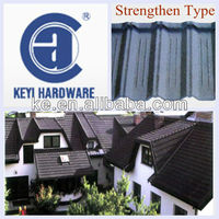 Colorful Stone-Coated Metal Roofing Tile