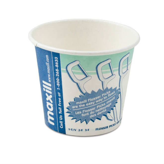maxi-cups Disposable Paper Cups - Dental Trivia