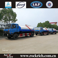 Top design dongfeng 9000 Liters vacuum sewage suction tanker truck for sale