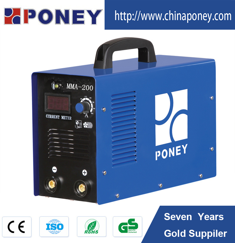 Alibaba Express CE portable mosfet dc mma 200 amp model C/inverter welding machine