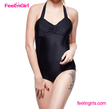 2014 New young girl swimsuit models one piece swimsuit