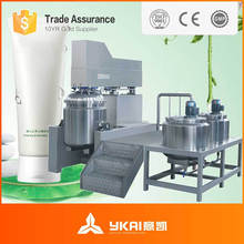 Vacuum Mixing Production processing Line For Mayonnaise And Butter