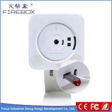 Shenzhen Venta caliente montado en la pared portable Bluetooth CD MP3 player con FM/USB/AUX