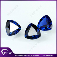 AAA grade fat triangle cut loose blue spinel price per carat 114# spinel gemstone