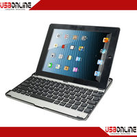 Cheap case for ipad bluetooth keyboard for ipad2 ipad3 bluetooth 3.0 keyboard case