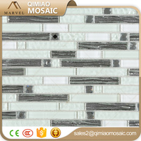 Purify Tile Limpid Bright Color Crystal Glass Mosaic