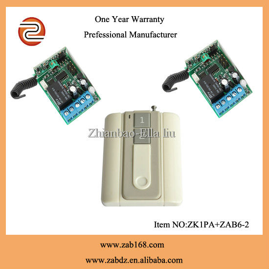 high class wireless wall switch remote transmitter and receiver(ZK1PA +ZAB6-2)