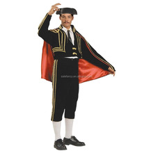 Matador costumes for men latex Costume Adult Halloween Fancy Dress QAMC-8358