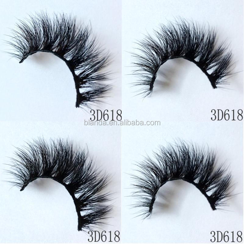 WHOLESALE Most Beautiful Comfortable Glamorous Lashes 3D Mink Eyelashes False Eyelashes Made in China Factory