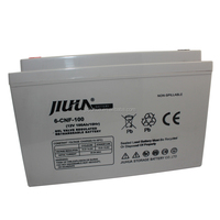JIUHUA 12V 100AH recharge deep cycle gel battery