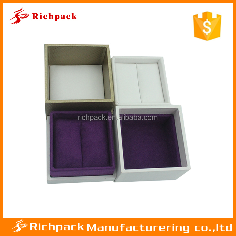 Small Paper Gift Box Ring Brooch Jewelry Display Present Storage Case