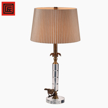 Listed Modern Hotel Bedroom Table Lamp With Base Switch