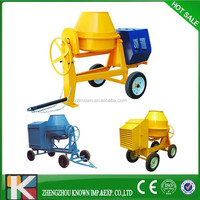 350L 500L electric portable concrete mixer for sale